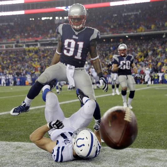 Defense, rushing attack send Patriots to AFC championship game
