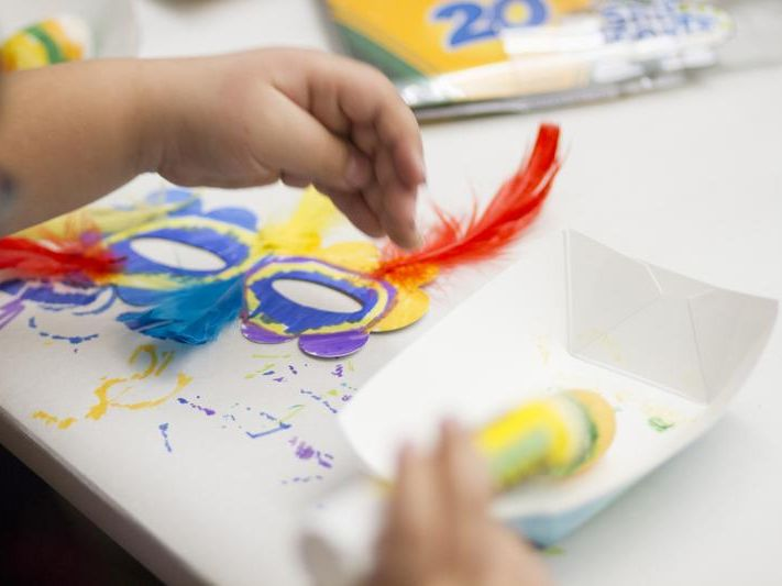 Children can get hands-on at the free Second Saturday event at the Nevada Museum of Art.