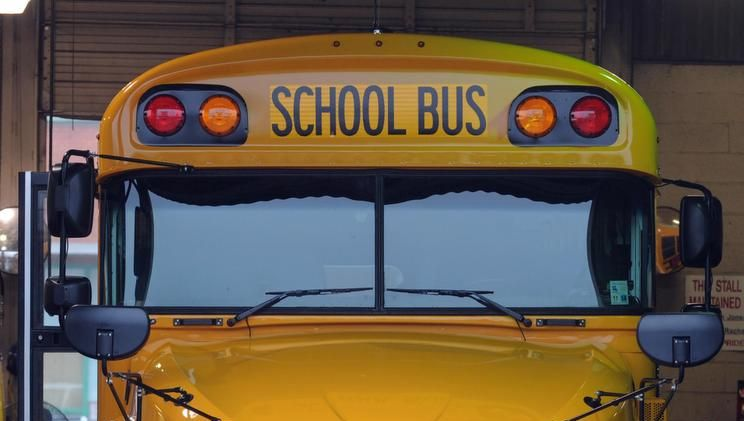 A Caddo Parish bus was involved in a crash Friday morning